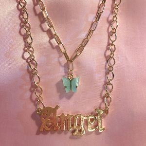 Angel Butterfly Necklace